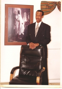 Rev. Lorenzo Thurman,  Pastor of Community Church of God, Rockford, IL. and New Covenant Community Church, Inglewood, CA